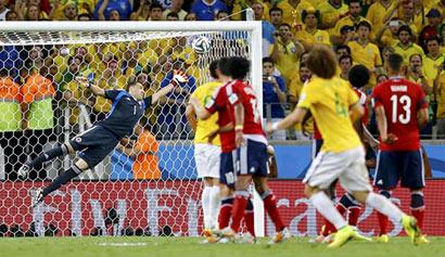 Brazil goal - Fifa 2014