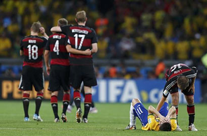 Brazil Vs Germany - FIFA 2014