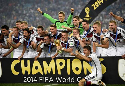 FIFA 2014 Worldcup Winner - Germany Team