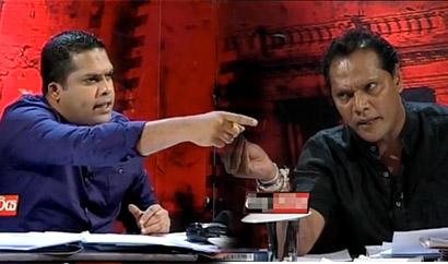 Harin Fernando Vs Dayasiri at Derana Vada Pitiya