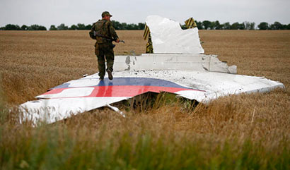 Malaysia Airlines flight MH17 Down