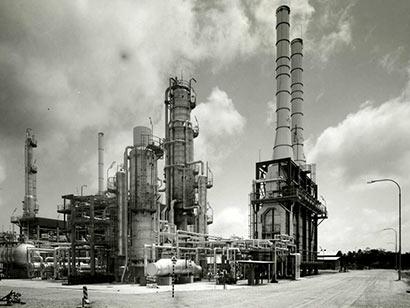 Sapugaskanda oil refinery