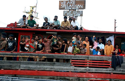 Sri Lanka asylum seekers