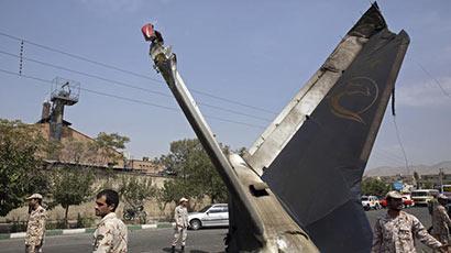 Plane crashes at Tehran's Mehrabad airport