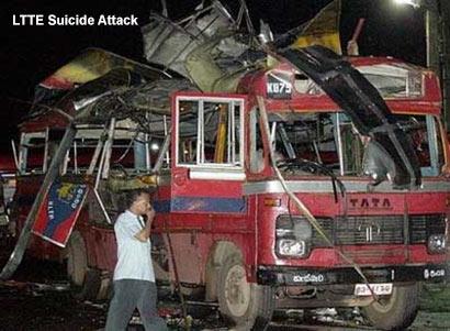LTTE Suicide Attack