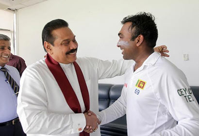 Sri Lanka bade farewell to their former test and ODI captain Mahela Jayawardena