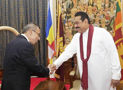 Secretary General of SAARC Calls on President Rajapaksa