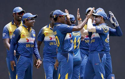 Sri Lanka Cricket Win