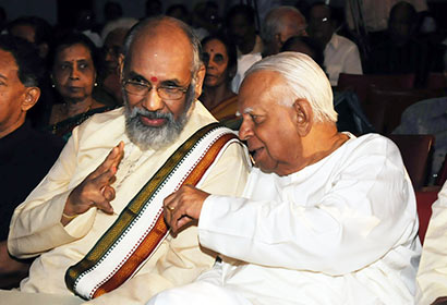 C V Wigneswaran with R Sampanthan