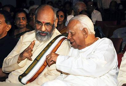 C V Wigneswaran with R Sampanthan