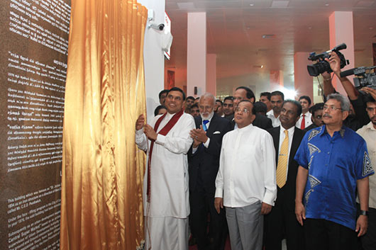 Colombo Gold Centre declared open