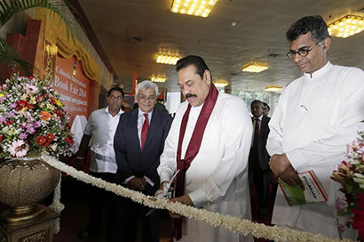 President Mahinda Rajapaksa declared open the Colombo International Book Exhibition - 2014