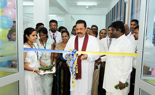 President at opening ceremony of Moneragala District Secretariat Complex