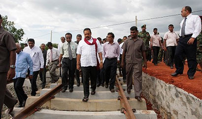 Sri Lanka Northern Railway Development