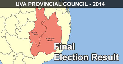 Uva Provincial Council Elections 2014
