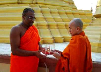 Ven. Ashin Wirathu – Welcome to Sri Lanka