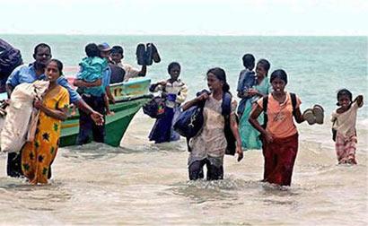 Tamil refugees