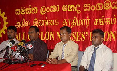 The All Ceylon Nurses Union (ACNU)