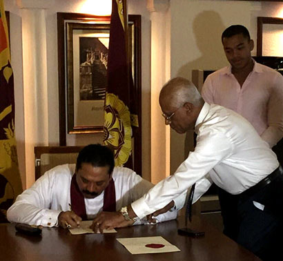 President signs Proclamation for a Presidential Election