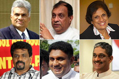 Common Candidate as Sri Lankan President