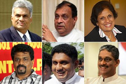 Common Candidate as Sri Lankan President