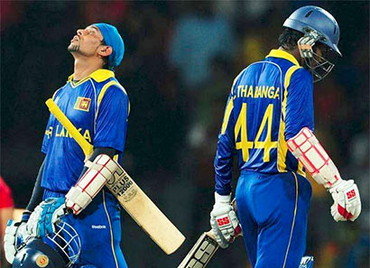 T.M.Dilshan and Upul Tharanga