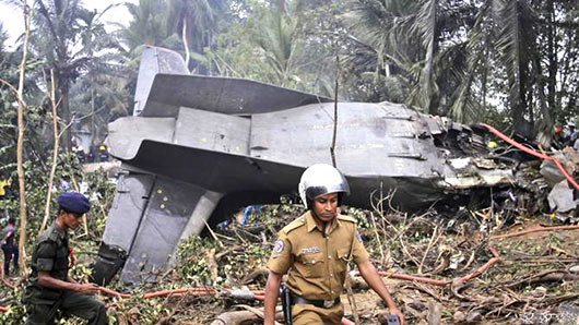 Athurugiriya plane crash - Sri Lanka Air Force