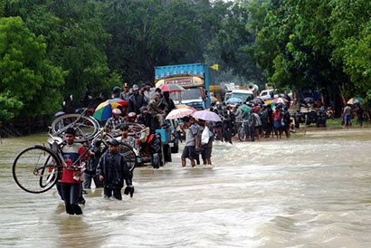 Bad weather in Sri Lanka