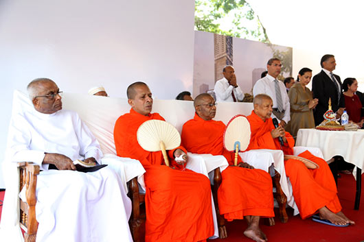 Secretary Defence and Urban Development Mr. Gotabaya Rajapaksa Lays foundation stone for Colombo City Center