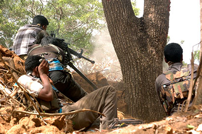 LTTE cadres