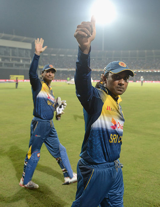 Mahela Jayawardena and Kumar Sangakkara