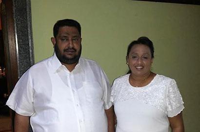 Nishantha Muthuhettigama and Kokila Muthuhettigama