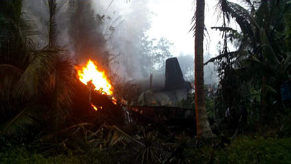 Plane crash in Athurugiriya