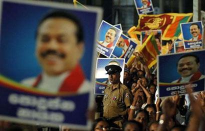 Mahinda Rajapaksa's Election Campaign