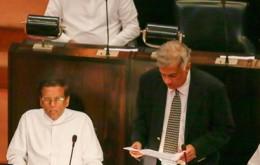 Sri Lanka Prime Minister Ranil Wickremasinghe