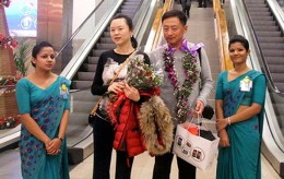 Chinese tourists to Sri Lanka