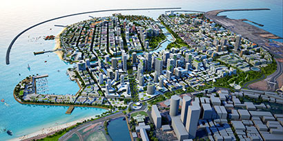 Colombo Port City project