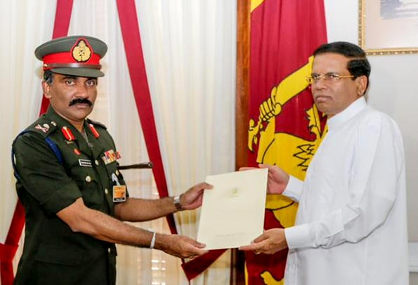 Krishantha de Silva appointed new Army Commander of Sri Lanka