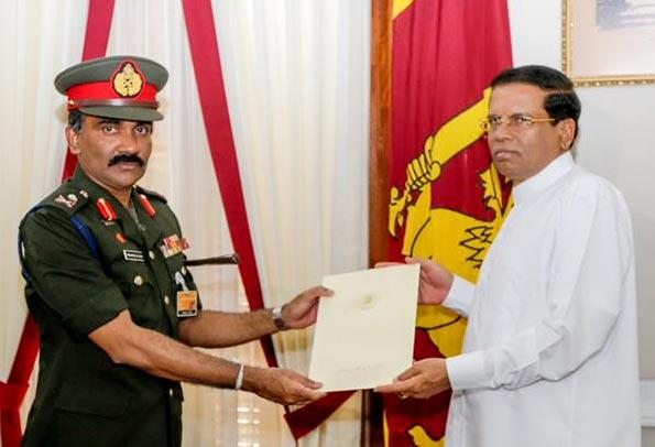 Krishantha de Silva appointed new Army Commander of Sri Lanka