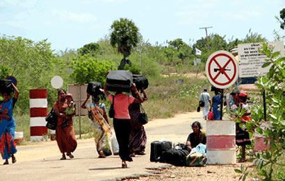 Omanthai checkpoint