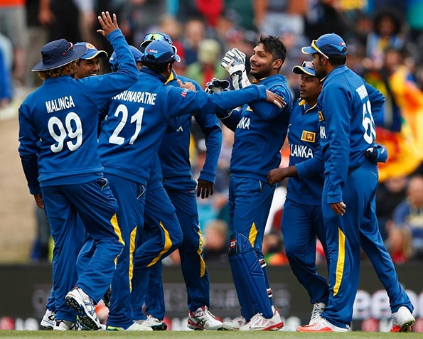 Sri Lanka Cricket team at Worldcup 2015