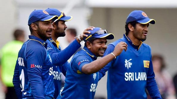 Sri Lanka Cricket team on Worldcup 2015