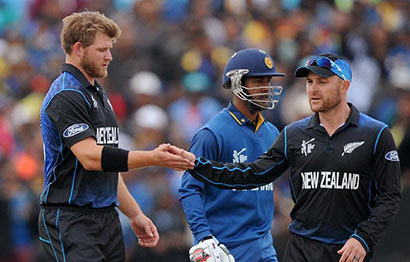 Sri Lanka vs New Zealand - Cricket Worldcup - 2015