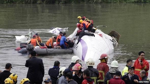 Transasia plane crash