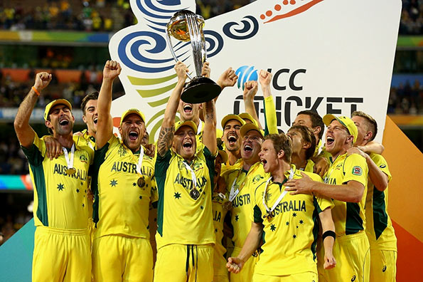 Australia won Cricket World Cup - 2015