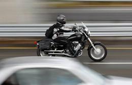 Full face helmet motorbike rider