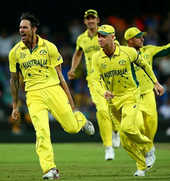 India Vs Australia Cricket World Cup - 2015