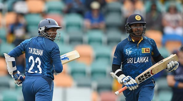 Kumar Sangakkara and TM Dilshan