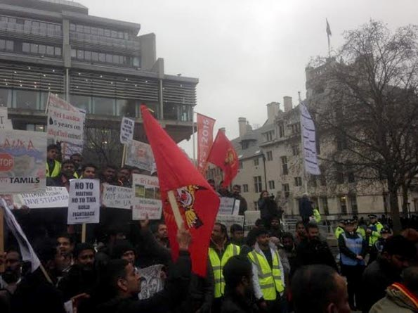 LTTE supporters in London