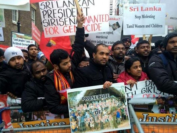 LTTE supporters in London